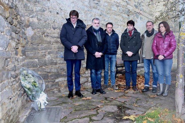 Homenaje del Ayuntamiento
