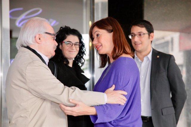 Armengol se reúne con expertos en el encuentro