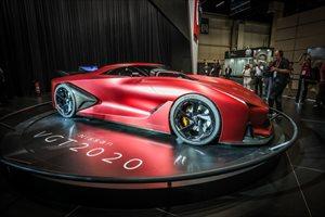 Nissan concept 2020 Visión Gran Turismo; de los videojuegos al salón de Sao Paulo 2016