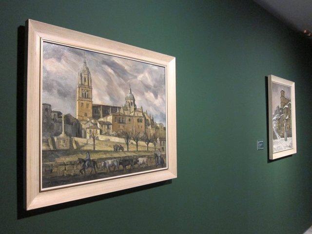 Dos cuadros de González Ubierna de la colección donada por Luisa Fidalgo