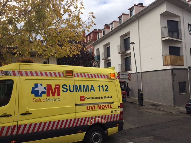 Ambulancia del SUMMA en Aranjuez