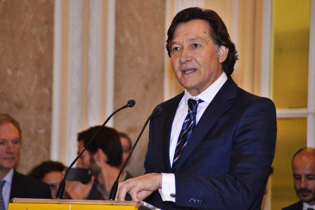 José Ramón Leto en su toma de posesión como presidente del CSD