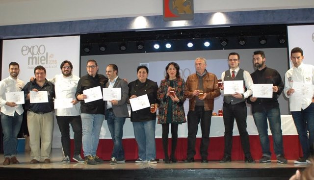 Pozuelo (centro), durante la eleboración del menú 'Mieles de Córdoba'