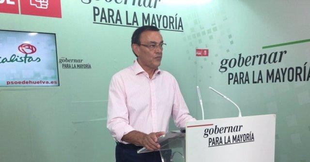 Ignacio Caraballo, secretario provincial del PSOE