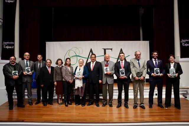 Entrega de los Premios AFA 2016