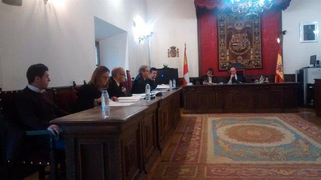 Una imagen del juicio celebrado hoy