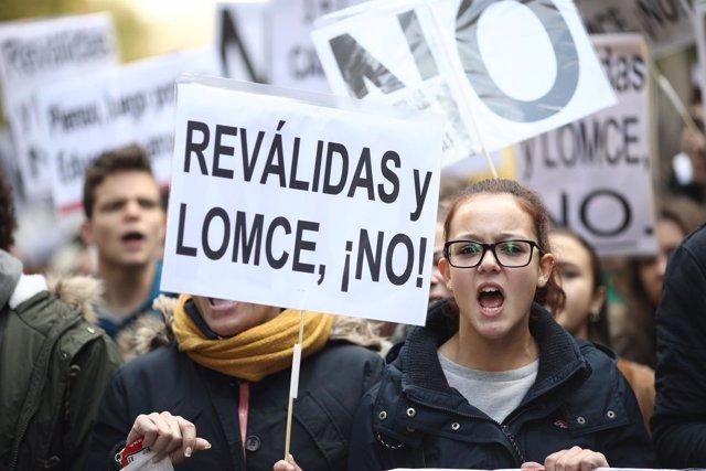 Manifestación educativa del 24 de noviembre