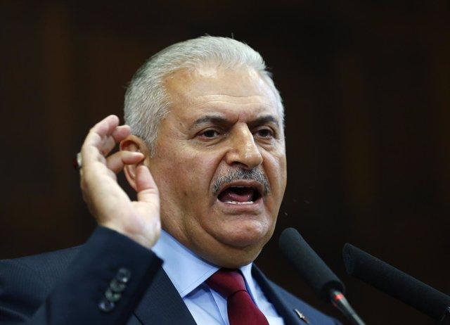 El primer ministro turco, Binali Yildirim