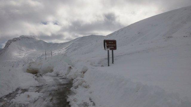 Nieve, nevada, invierno, Somiedo.