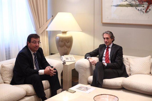 Iñigo de la Serna se reúne con Guillermo Fernández Vara