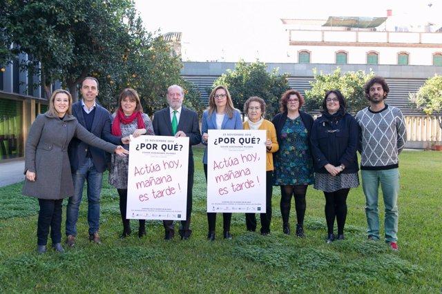 La Diputación apoya el 25N.