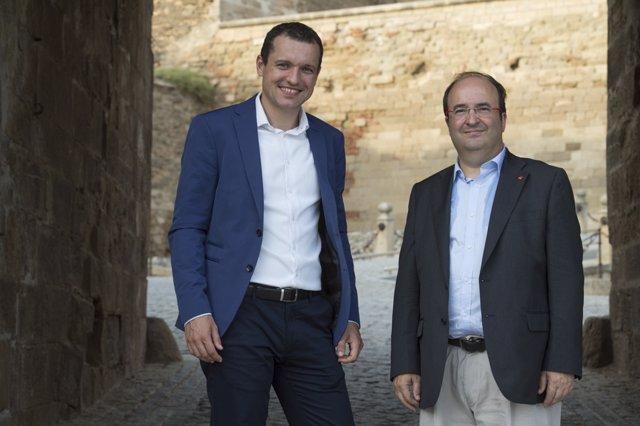 Oscar Ordeig y M.Iceta, PSC