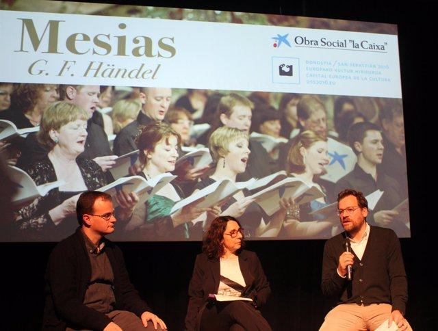 """Ndp + Foto: Rueda De Prensa Presentación """"El Mesías"""", Con Más De Doscientos Cant"""