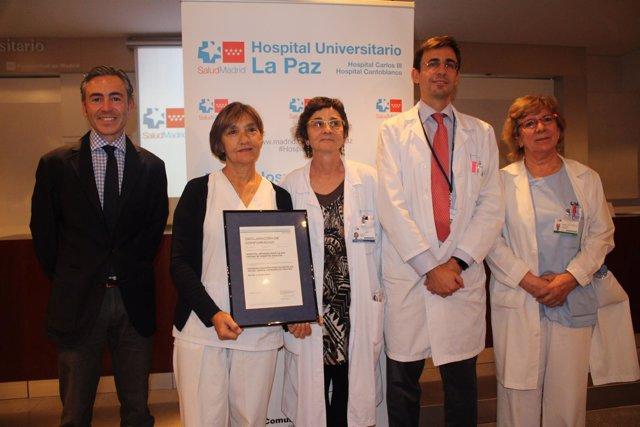 Reconocimiento a la Unidad de Diabetes de La Paz