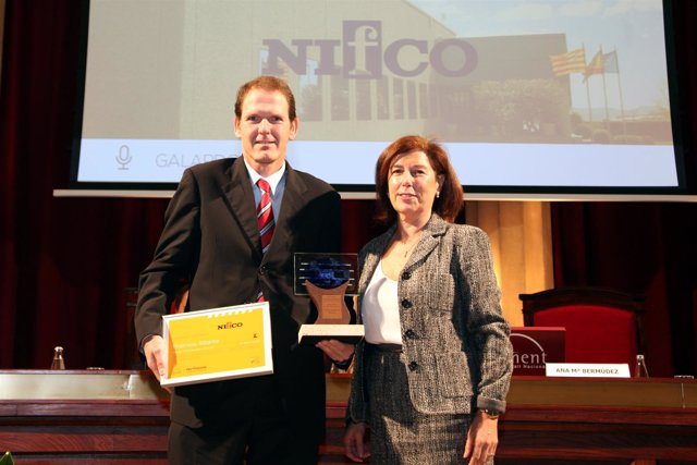 Maria den Braber, de Nifcon, y Ana Maria Bermúdez, de Foment