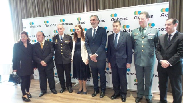 Entrega premios Aehcos a las Fuerzas de Seguridad