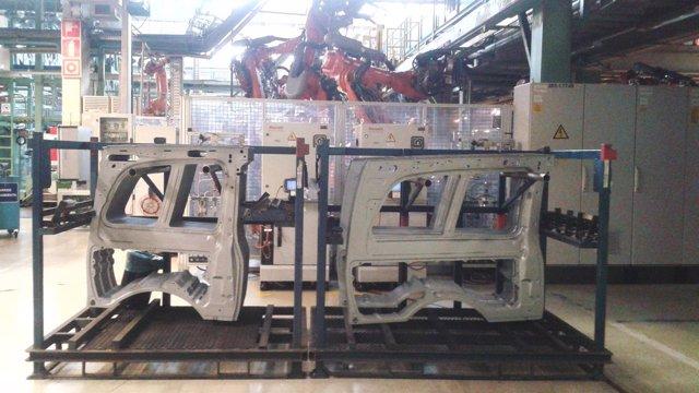 Fabrica de Mercedes en Vitoria