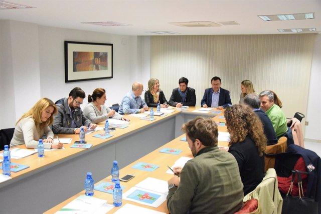 Reunión del PSOE de Málaga