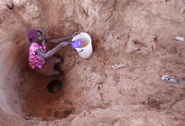 Sequía en Zimbabue