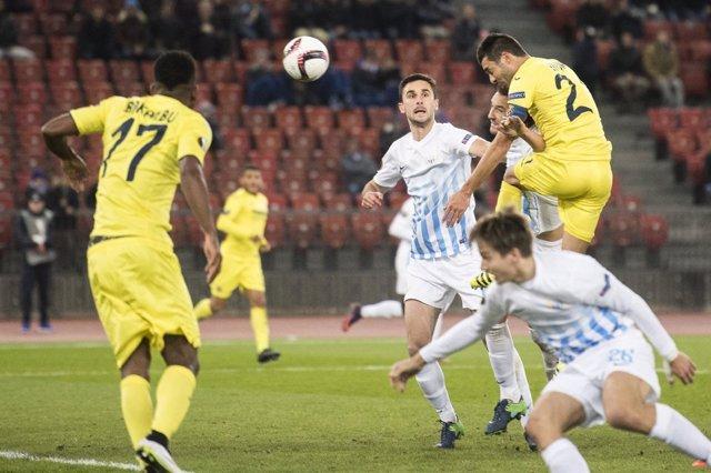 El Villarreal empata con el Zúrich en la Europa League