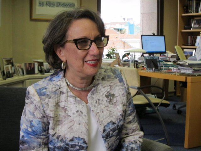 La secretaria general Iberoamericana, Rebeca Grynspan.