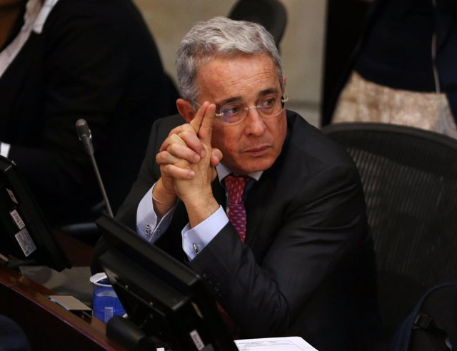 El ex presidente colombiano Álvaro Uribe