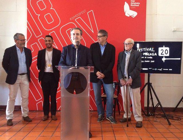 Presentación Festival de Málaga en Mar del Plata