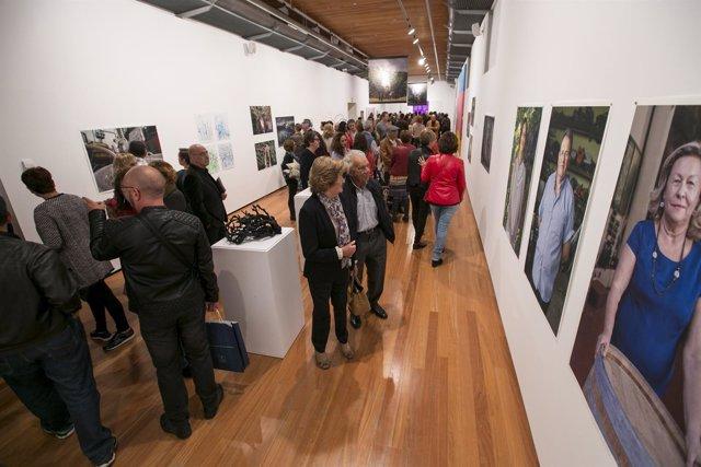 Inauguración de las exposiciones en San Martín