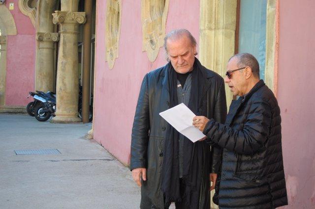 Lluís Pasqual y Lluís Homar