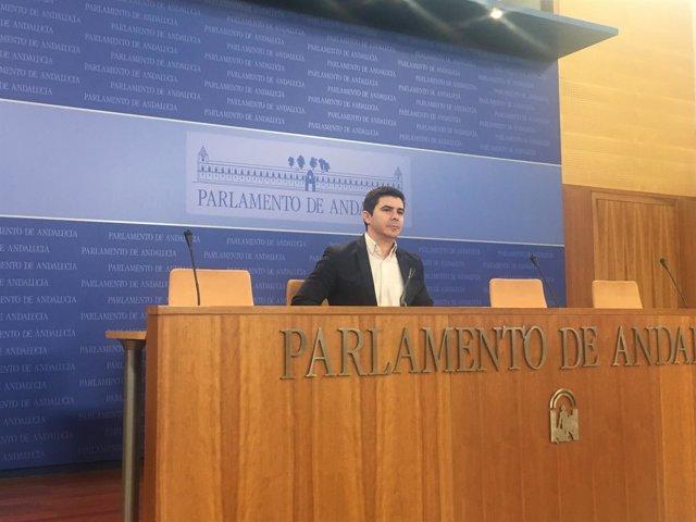 El parlamentario Ciudadanos Andalucía Sergio Romero
