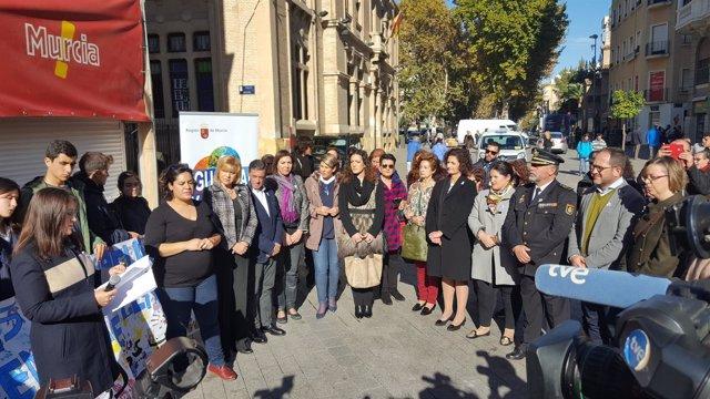 Foto/ Declaración Institucional Contra La Violencia De G Énero