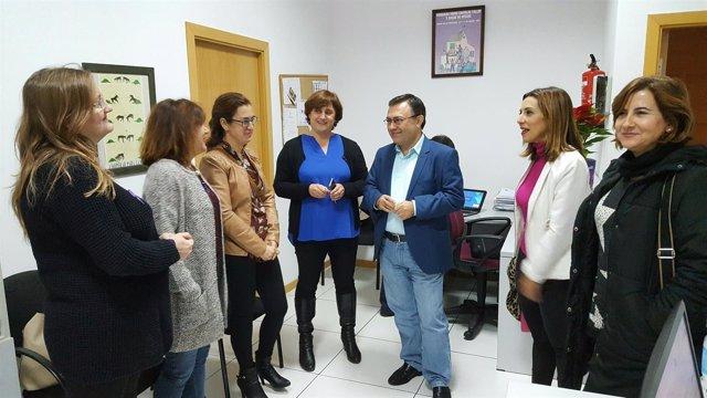 Heredia visita mujeres empresa faecta amecoop