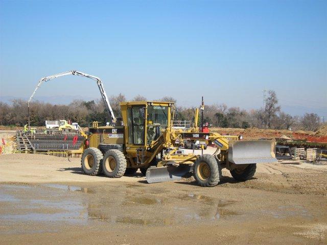 Trabajos De Construcción De La Subestación Conversora De Santa Llogaia en 2012