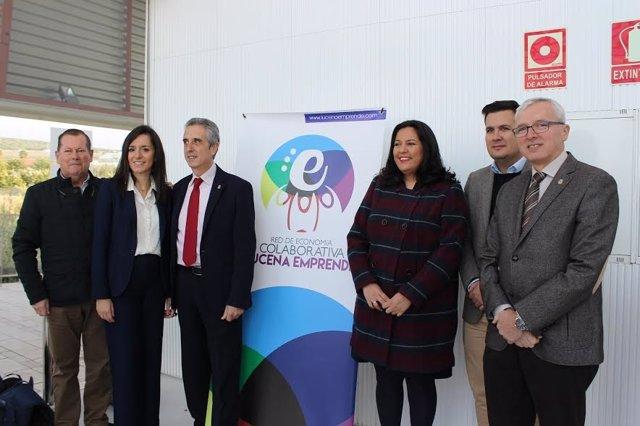 Amo y Pérez (centro), durante la inauguración de la jornada