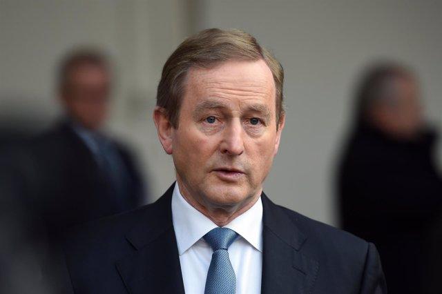 El primer ministro de Irlanda, Enda Kenny
