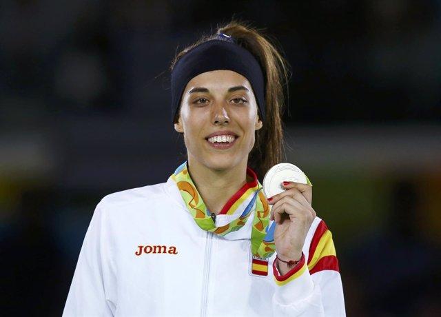Eva Calvo, plata en Río