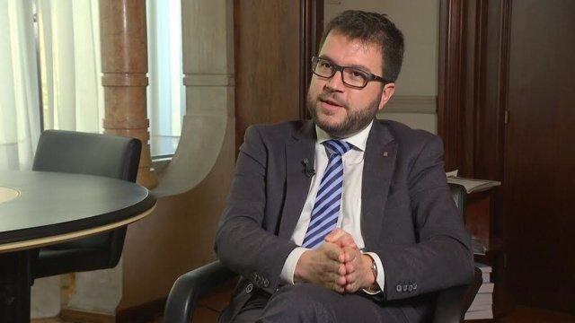 El secretario de Economía del Govern P.Aragonès.