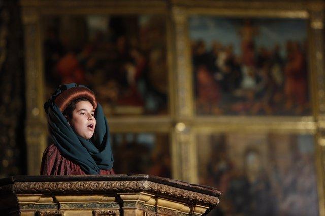 El canto medieval de la Sibila vuelve a la Catedral de Valencia