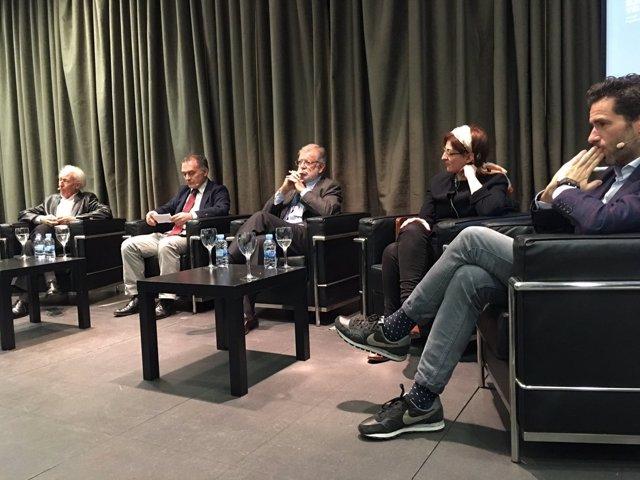 Acto sobre el nacionalismo organizado en Madrid por Carolina Punset