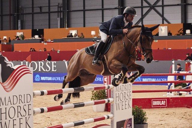 Eduardo Álvarez en la Madrid Horse Week
