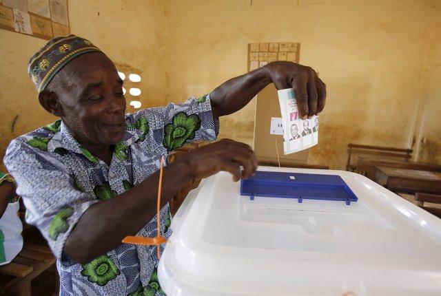 Elecciones presidenciales en Costa de Marfil, África