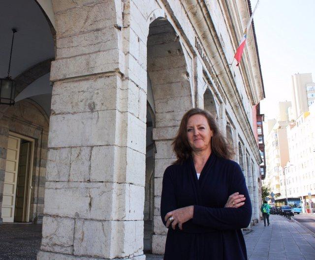 Mercedes Toribio, diputada del PP