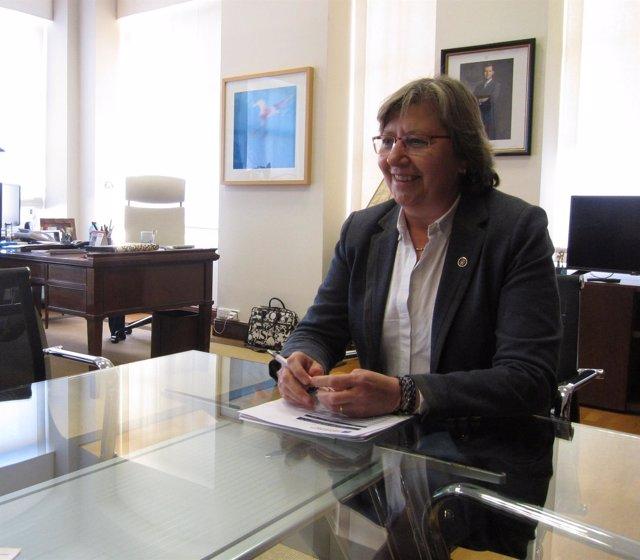 Rosa Quintana en entrevista con Europa Press