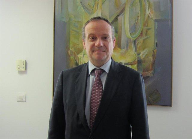 El ecónomo de la Archidiócesis de Zaragoza, Ernesto Meléndez