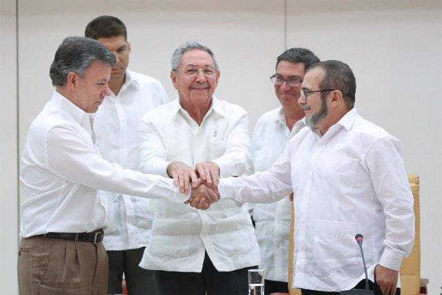 Raul Castro as Juan Manuel Sant