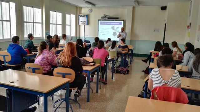Taller contra el acoso escolar de la Diputación de Málaga colegio