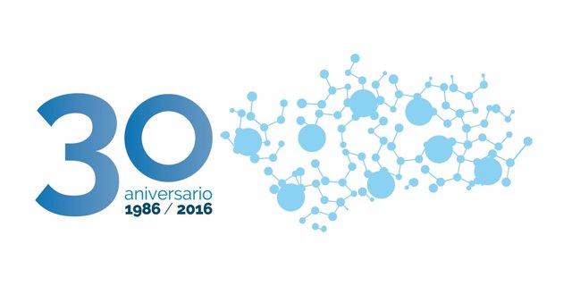 Logo del 30 aniversario de ASA-A