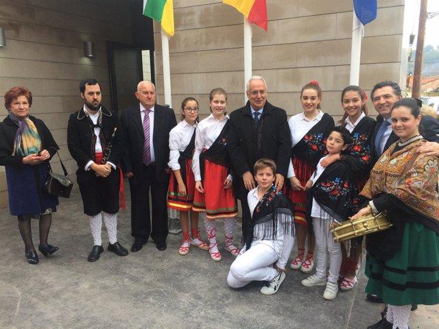 Inauguración Casa Consistorial de Villaverde de Rioja