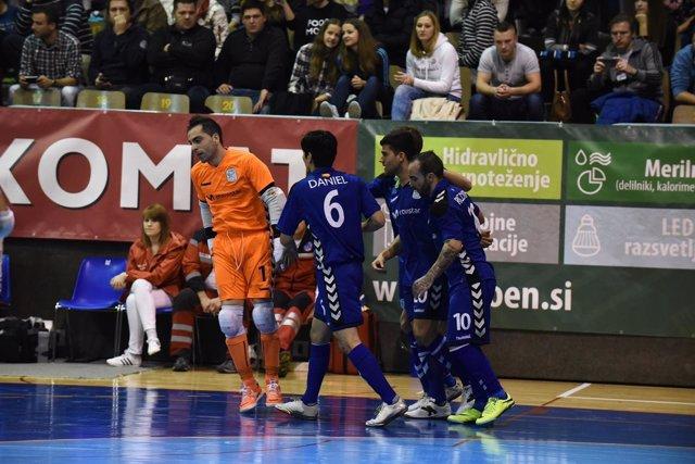 Inter Movistar jugará la Final Four de la Copa de Europa de fútbol sala