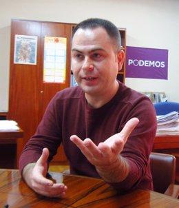 David Llorente, Podemos